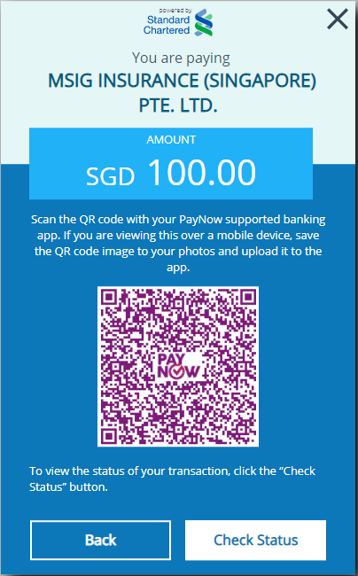 Scan this PayNow QR code in your preferred banking app for payment.
